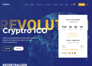 Cryptro-ICO